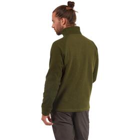 Craghoppers Barker Maglietta Con Mezza Zip Uomo, dark moss marl